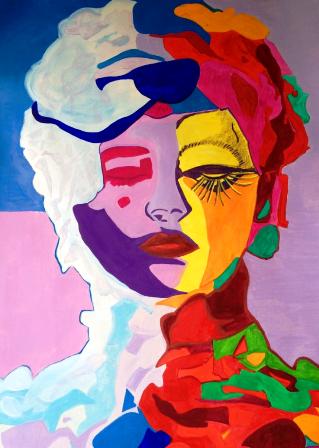 Blumenfrau (go to 2015)