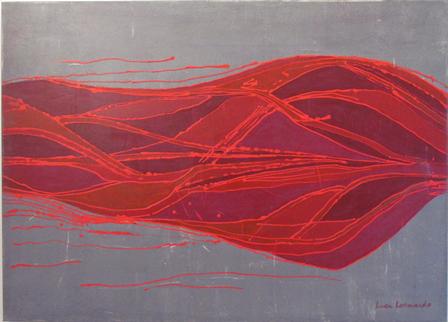 luca leonardo, méduses de lumière (2016) [100 x 70]